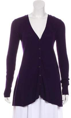 Theory Fluted Button-Up Cardigan