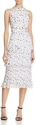 Whistles Dot-Print Tiered Dress - 100% Exclusive $389 thestylecure.com