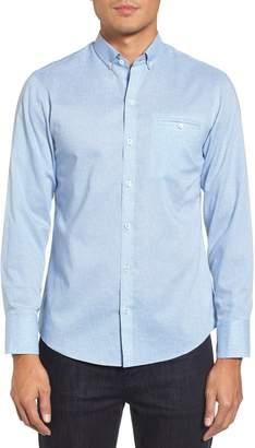 Zachary Prell Forrest Regular Fit Textured Woven Sport Shirt