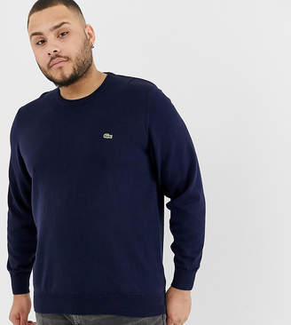 0aa46ad9d648 Lacoste Crew Neck Jumper - ShopStyle UK