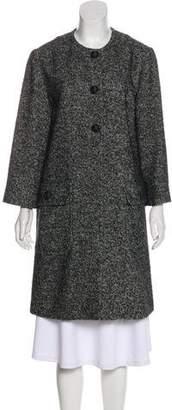 Dolce & Gabbana Wool Knee-Length Coat