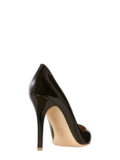 100mm Patent Leather Pumps