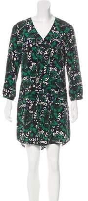 Veronica Beard Silk Knee-Length Dress