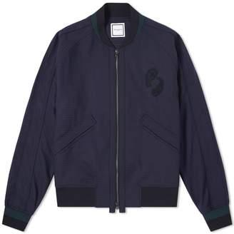 Wooyoungmi Paisley Motif Bomber Jacket