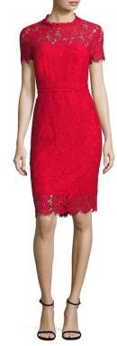 Diane von Furstenberg Alma Lace Dress $468 thestylecure.com