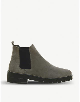 Office Aimee cleat-sole suede Chelsea boots