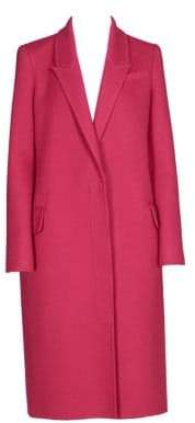 Alexander McQueen Virgin Wool& Cashmere Coat