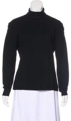 Marni Ruched Turtleneck Sweater