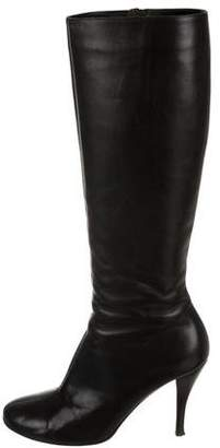 Jean-Michel Cazabat Leather Knee-High Boots