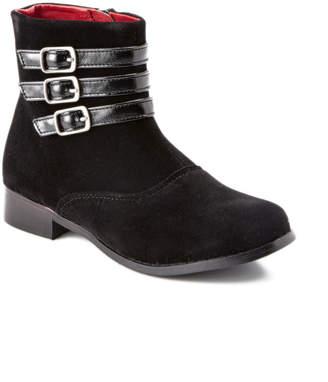 L'amour Black Velvet Boot