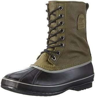 Sorel 1964 Premium T CVS, Men Snow Boots, Black (Black, Sail Red 012), 6.5 UK (40 1/2 EU)