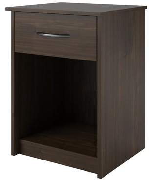 ... Shelley Laurel Foundry Modern Farmhouse 1 Drawer Nightstand