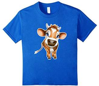 Cute Little Cow T-shirt For Boys Girls & Toddlers