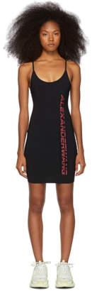 Alexander Wang Black Swim Jersey Dress