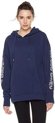 Something for Everyone Women's Oversized Zip-Up Hoodie With Sleeve Graphics