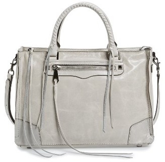 Rebecca Minkoff Regan Satchel - Beige $325 thestylecure.com