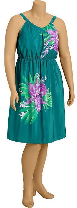 Old Navy Women's Plus Floral Crepe Sundresses