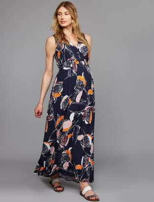 1268cfb6dcefe ... A Pea in the Pod Tulip Woven Maxi Maternity Dress