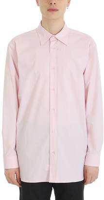 Raf Simons Slight Joy Division Pink Cotton Shirt