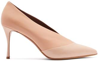 Tabitha Simmons Strike pointed-toe leather pumps
