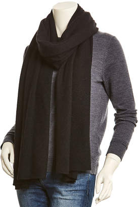 White + Warren Black Cashmere Wrap