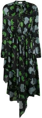 Christian Wijnants Hibiscus print dress