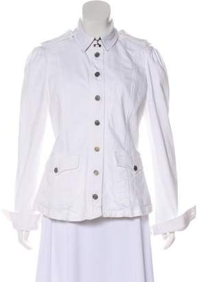 Burberry Denim Button-Up Jacket