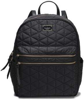 Kate Spade Faux Leather-trimmed Quilted Shell Backpack
