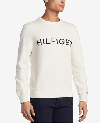 Tommy Hilfiger Men's Long-Sleeve Logo Shirt, Created for Macy's