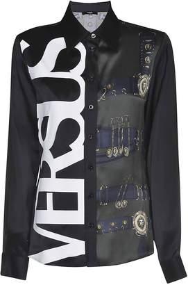 Versace Printed Logo Shirt