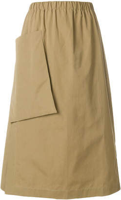 Sofie D'hoore patch pocket a-line skirt