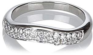 Bulgari Vintage Corona Diamond Curved Ring