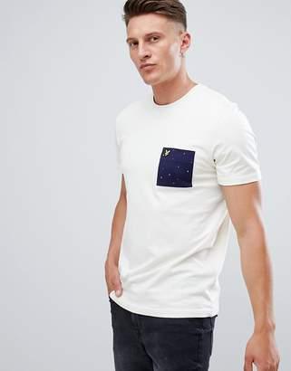 Lyle & Scott Contrast Pocket T-Shirt in White