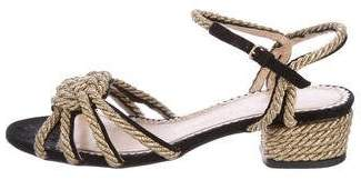 Charlotte Olympia It's Knot You, It's Me Rope Sandals