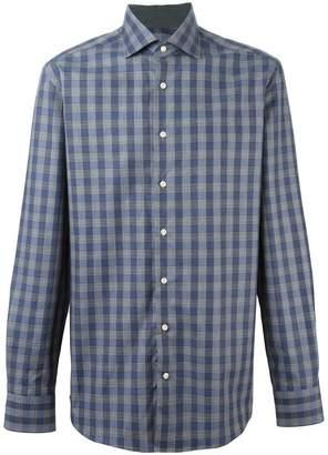 Hackett 'Mayfair Navy Check' shirt