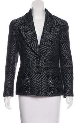 Chanel Embellished Wool Jacket
