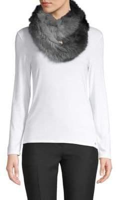 La Fiorentina Two-Tone Fur Scarf