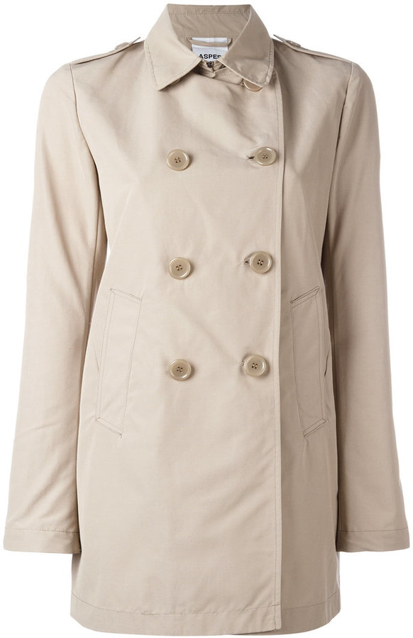 Alberto AspesiAspesi double breasted coat
