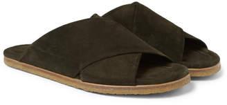 Dries Van Noten Suede Sandals