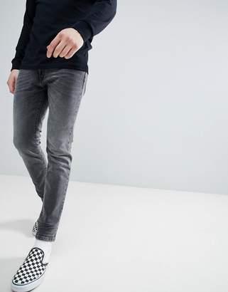 Wrangler super skinny jeans grunge grey
