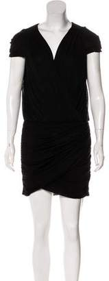 Cynthia Steffe Mini Draped Dress