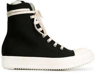 Rick Owens DRKSHDW hi-top sneakers $759 thestylecure.com