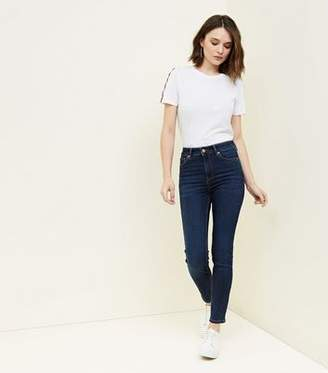 New Look Blue Rinse Wash Super Skinny 'Lift & Shape' Jeans