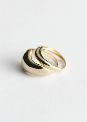 And other stories Two Pack Rings
