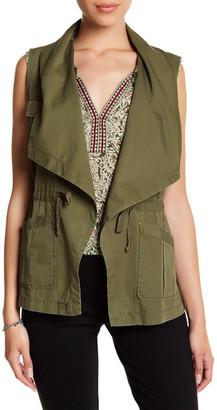DR2 by Daniel Rainn Cascade Vest (Petite) $78 thestylecure.com