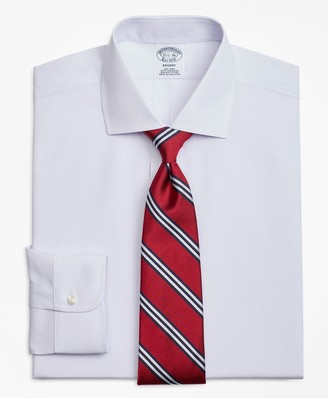 Brooks Brothers Regent Fitted Dress Shirt, Non-Iron Pencil Stripe