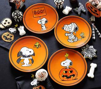 Pottery Barn Kids Charlie Brown Halloween Plates