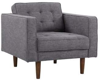 Mid-Century MODERN Armen Living Element Chair, Walnut