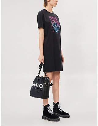 Kenzo Logo-print cotton-jersey T-shirt dress