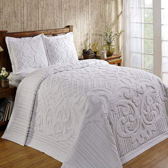 Td National Brand Better Trends Ashton Chenille Bedspread